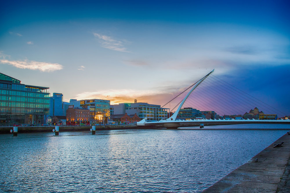 Dublin in December