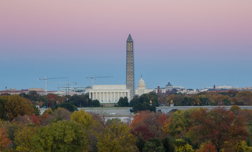 Fall Skyline in DC