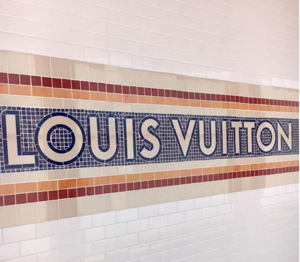 Credit: Angela M. Fludd Louis Vuitton Volez, Voguez,Voyagez