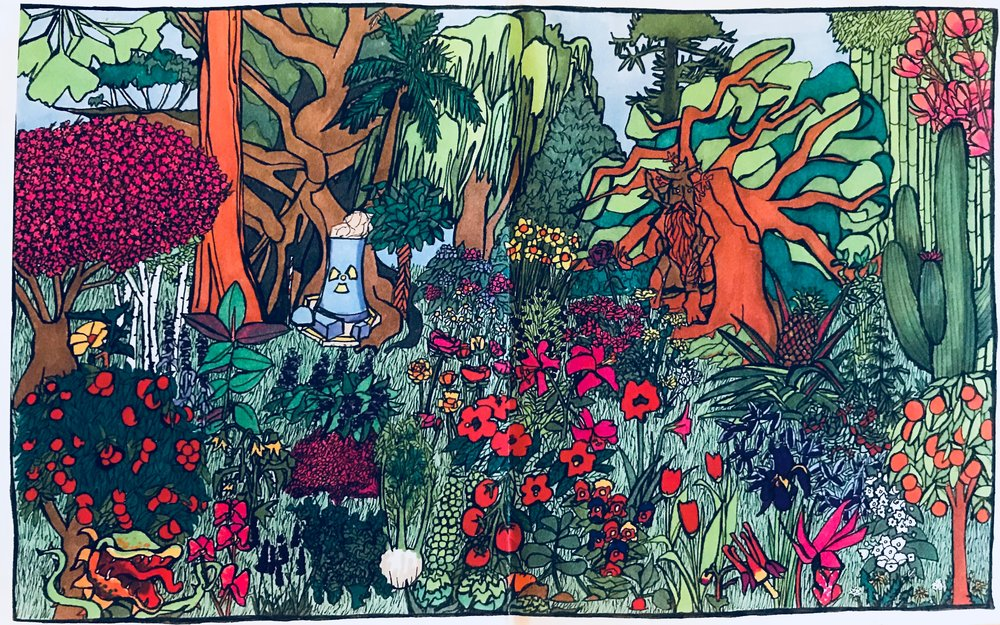 What's Your Favorite Plant? (2014) / Inside Panel