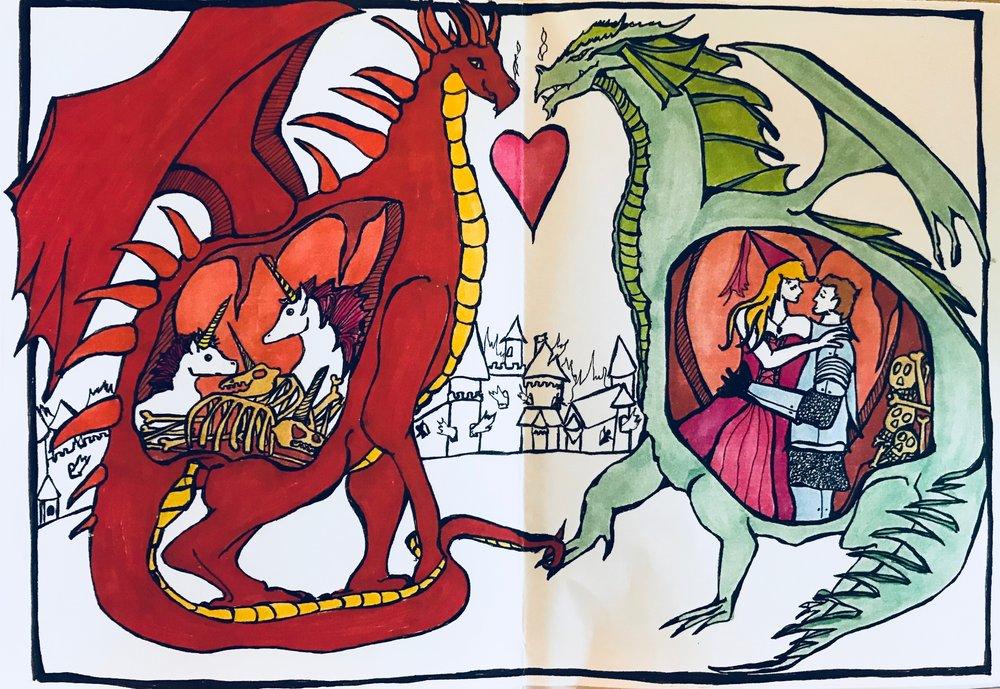 Valentine's Day Card (2011) / Inside Panel