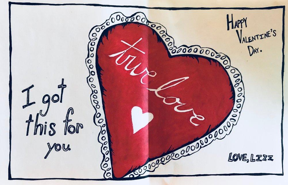 Valentine's Day Card (2010) / Inside Panel