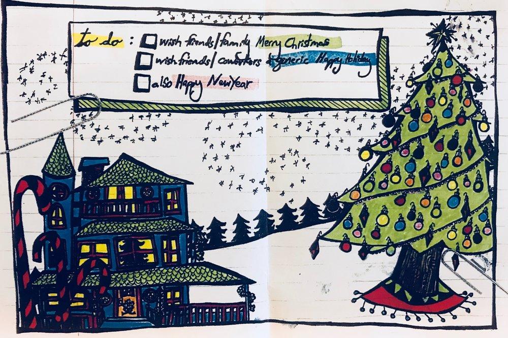 Christmas Card (2010) / Full Panel