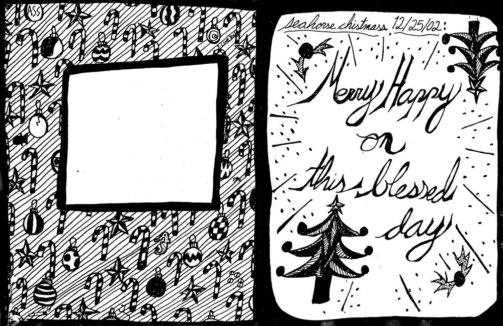Christmas Card (2002) / Inside Panel