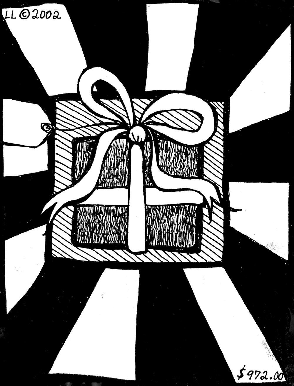 Christmas Card (2002) / Back Panel
