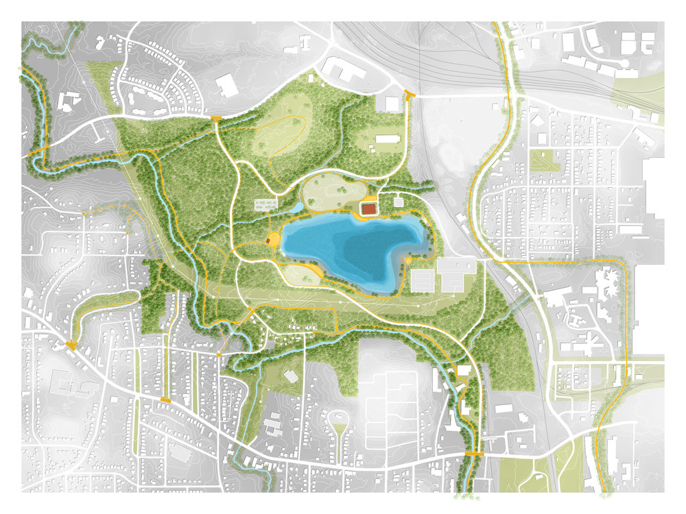 Proposed Quarry Access: Rendering