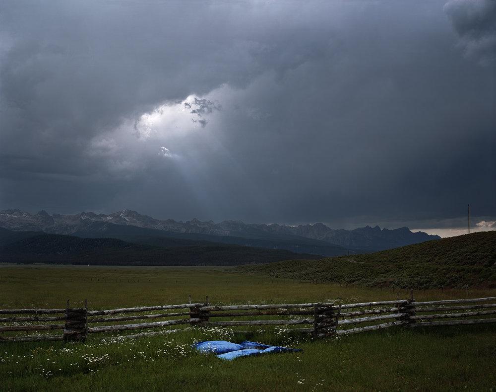 Blue Tarp, Sawtooth Mountains, Custer County, Idaho, 2004_work.jpg