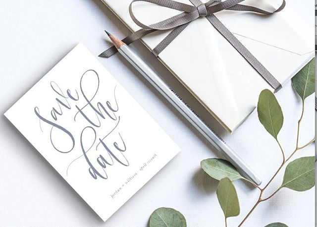 clean + classy 🌿 . . . . . #bensonpaperco #weddinginvitation #oregonweddings #weddingcalligraphy #calligraphy #moderncalligraphy #handlettered #handlettering #ipadlettering #ipadpro #freehand #pnwweddings #centraloregonweddings #bendoregon #inbend #destinationwedding #savethedate #graphicdesign #design #create #stationery #papergoods