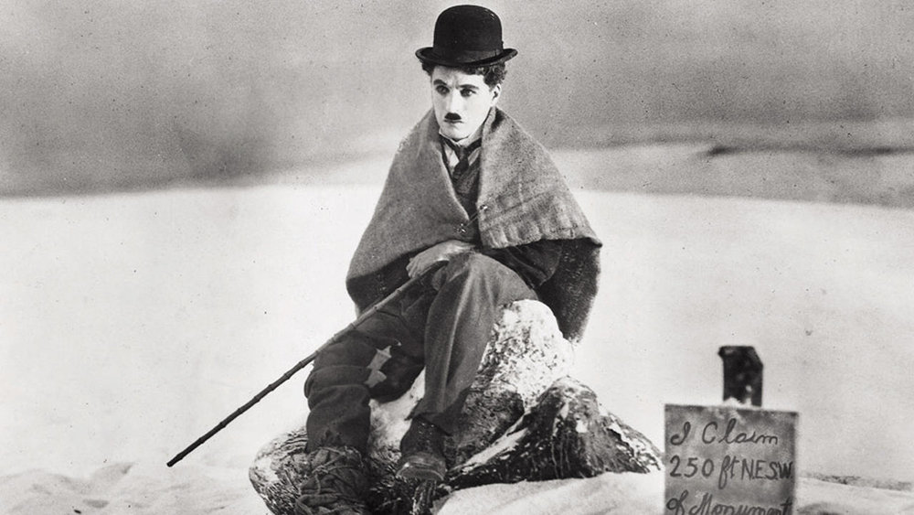 The Gold Rush  directed by Charlie Chaplin