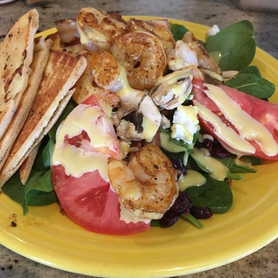 Grilled Local Shrimp Salad