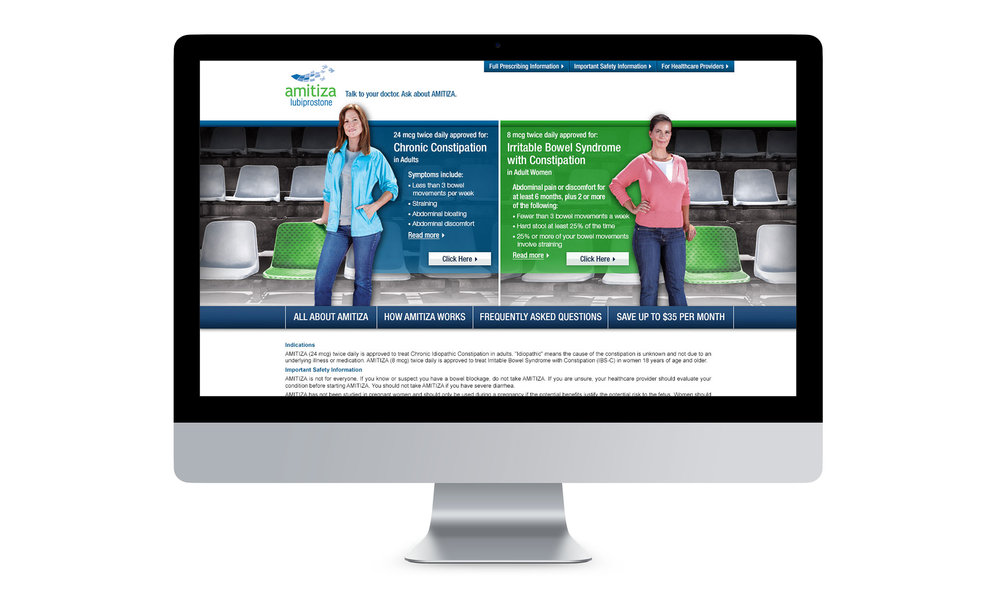 Desktop: Selected Homepage Design