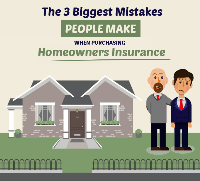 Beware Of These 3 Home Insurance Purchasing Mistakes!
