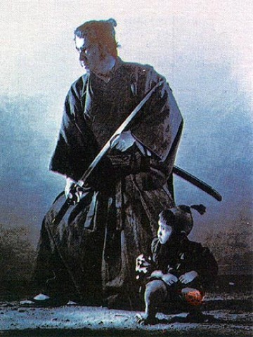 Most of the movie dialogue on Liquid Sword is from Shogun Assassin (1980)