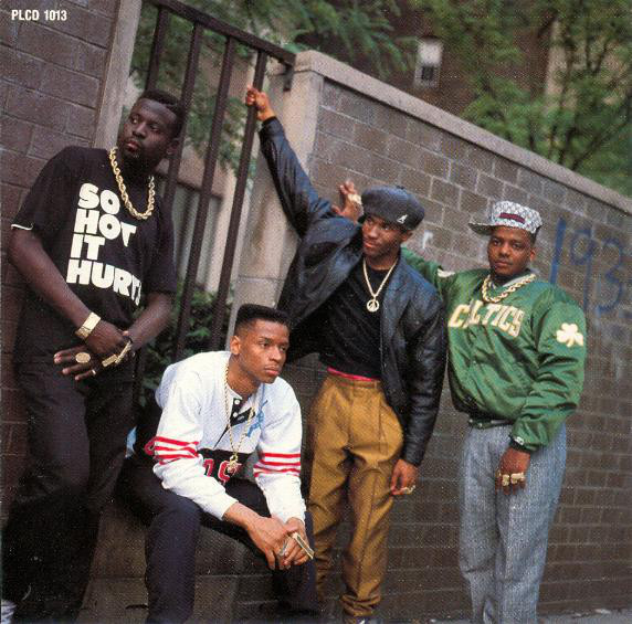 Photo from inside Ultramagnetic MC's  Critical Beatdown  album