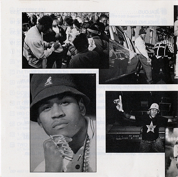 Photo collage from LL Cool J's  Walking With A Panther