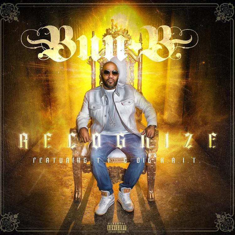 "The single cover of Bun B's amazing new single ""Recognize"" featuring Big K.R.I.T. & T.I."