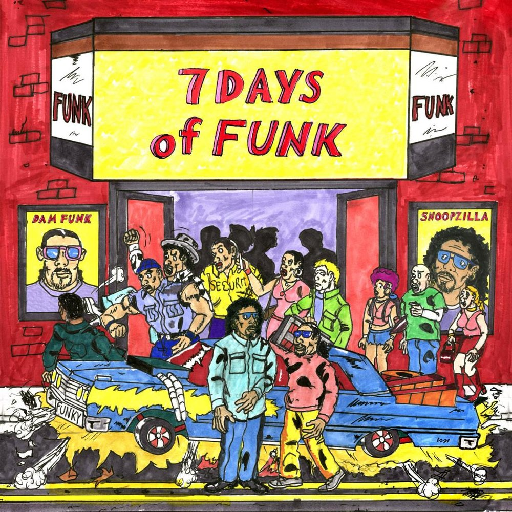 Album cover Snoopdelic's  7 Days of Funk