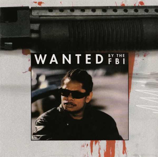 The CD artwork in  Straight off tha Streetz of Muthaphukkin' Compton  portrays Eazy-E as a dangerous criminal on the FBI's most wanted list
