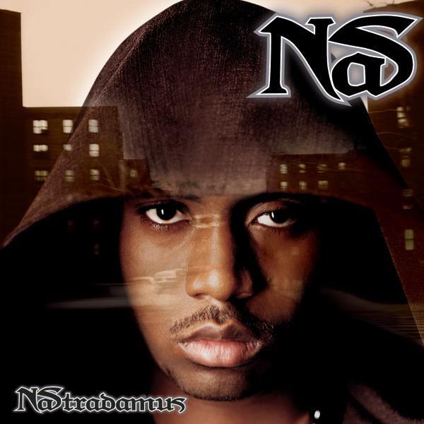 """Nas' fourth album (cover)Nastradamus portrays Nas as the French """"seer"""" Nostradamus"""