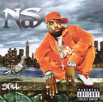 The cover for Nas' Stillmatic is definetely a classic