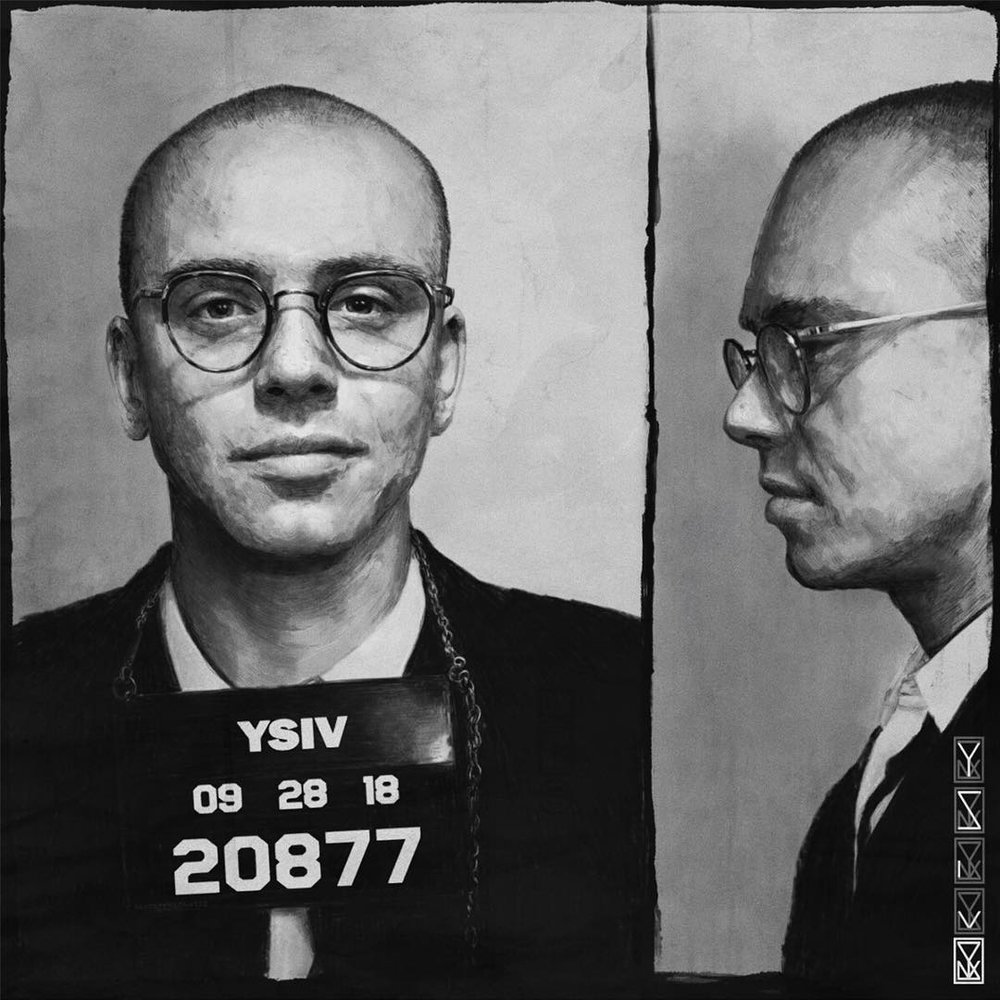 This is the cover for Logic's new album,  Young Sinatra IV  - Photo courtesy of   @logic