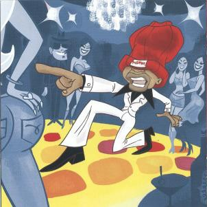 Cartoon artwork from Redman's  Malpractice  album