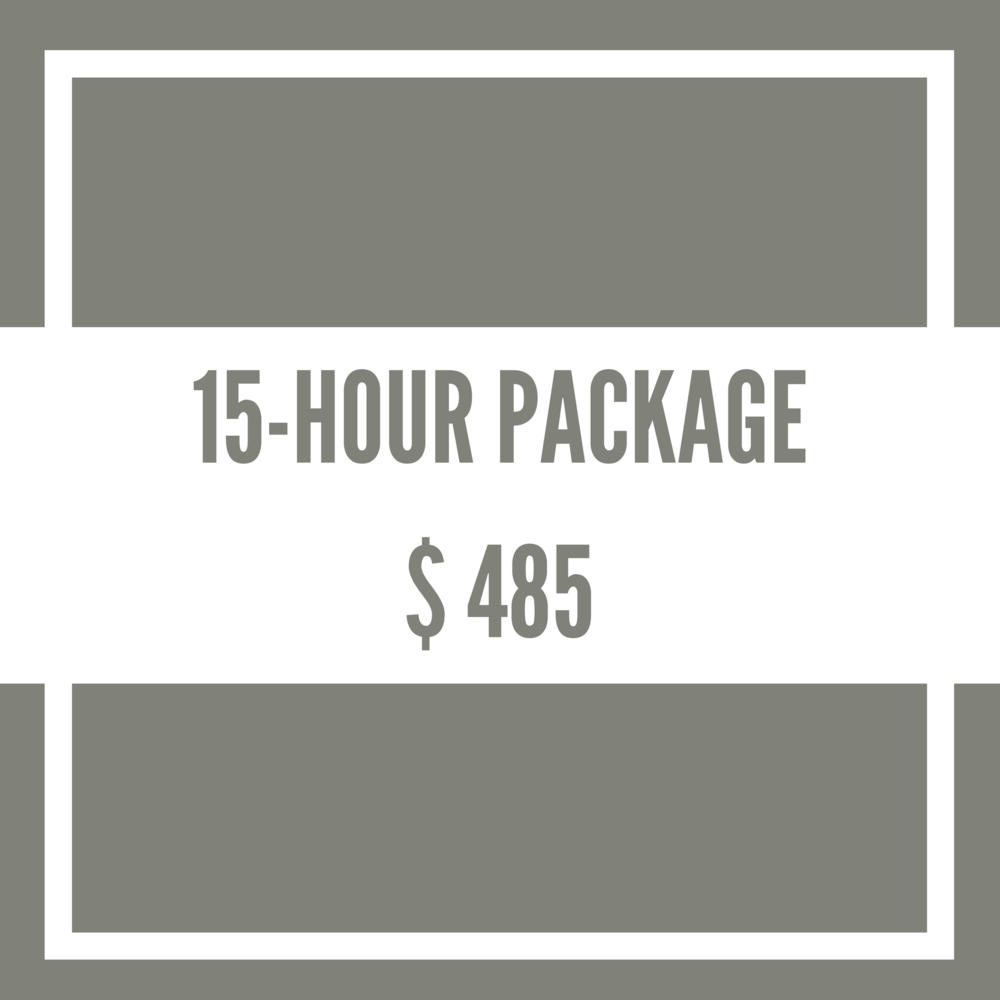 15-Hour-Package