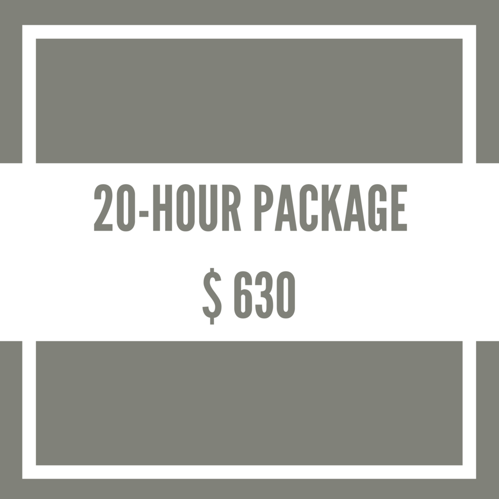 20-Hour-Package