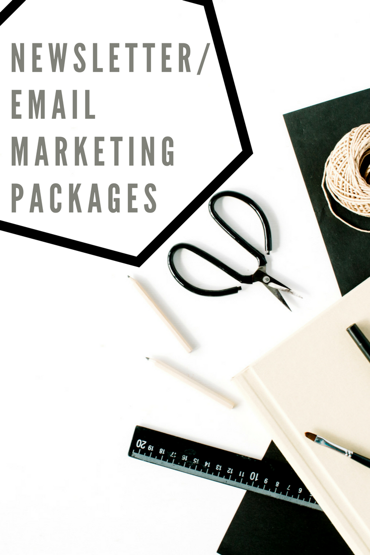 Newsletter/Email Marketing Packages available from AndreaKchapman.com