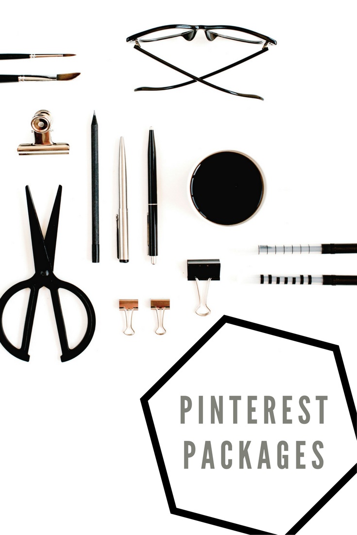 Pinterest packages available from AndreaKChapman.com