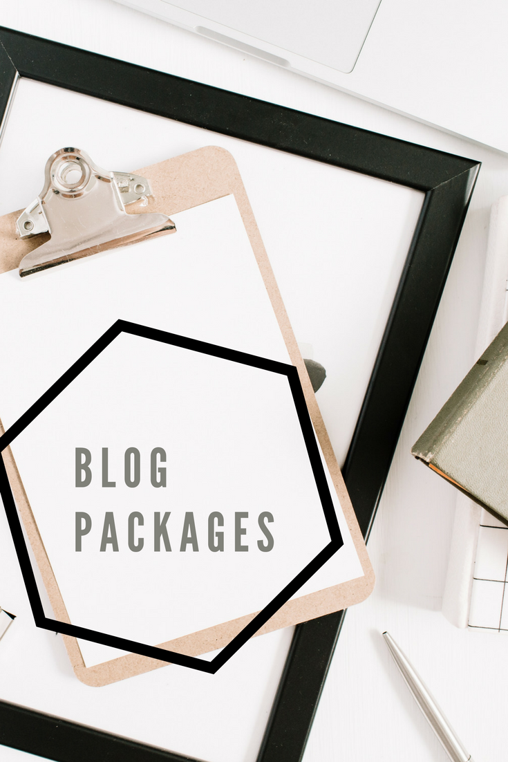 Blog Packages available from AndreaKChapman.com