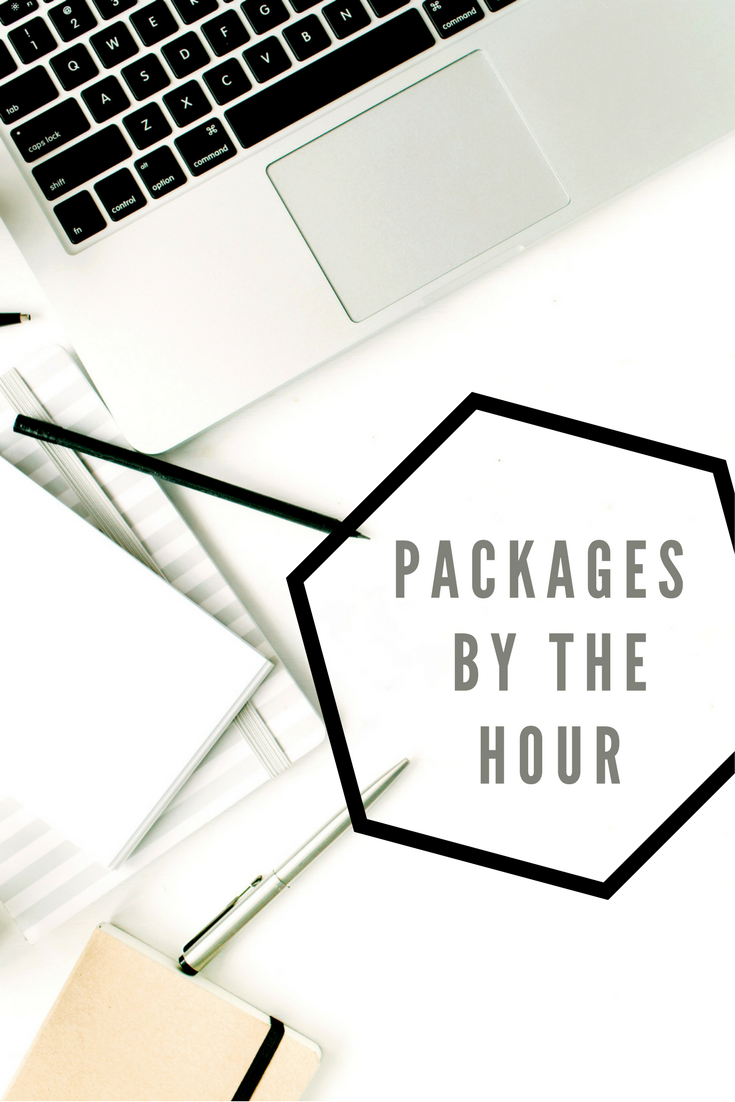 Virtual assisting packages by the hour available from andreakchapman.com