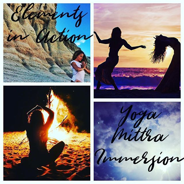 We gratefully offer the gift of yoga to share with our mittras (friends, tribe, fellow buddies on the path of life!) . Join us! Yoga Mittra Adv Immersion 🌍 Earth,  Air, 🔥 Fire, 💧 Water.... explore yoga journeys steeped in the elements next weekend Yoga Loft, Manhattan Beach with me and @suzynece in our oceanfront sanctuary 🌊 . . We will explore, immerse, practice, play, discuss, learn, reflect....Friday and Saturday 1:00-7:00pm . . Please register in advance by this Sunday Nov 25, $150 per day, $250 for both . . #yogatraining #teachertraining #getwokeyoga #awakentoyourlife #tribe #yogamittra #thisisyogatoo #thisiswhatyogalookslike