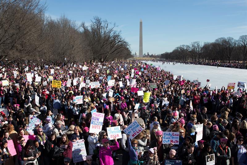 Las marchas de mujeres toman EE.UU. en el primer aniversario del Gobierno Trump .jpg