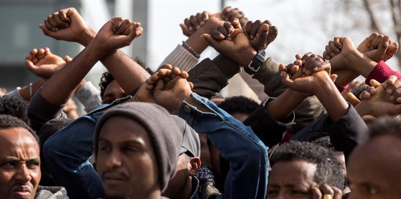 Católicos, rabinos y HRW denuncian el plan israelí de deportación de africanos .jpg