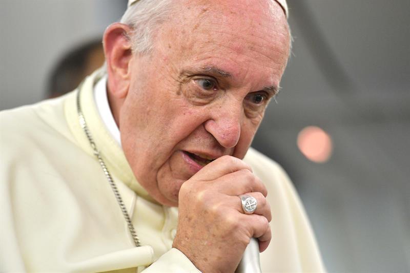 El papa asegura que quedó %22contento%22 del viaje a Chile .jpg