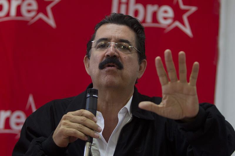 Zelaya dice que Hernández es su adversario personal y enemigo político .jpg