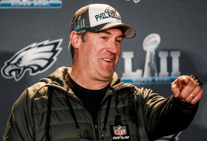 Los Eagles con Foles y su entrenador Pederson pueden dar la sorpresa .jpg