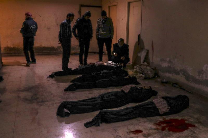 Más de sesenta muertos por ataques contra el feudo opositor cerca de Damasco .jpg