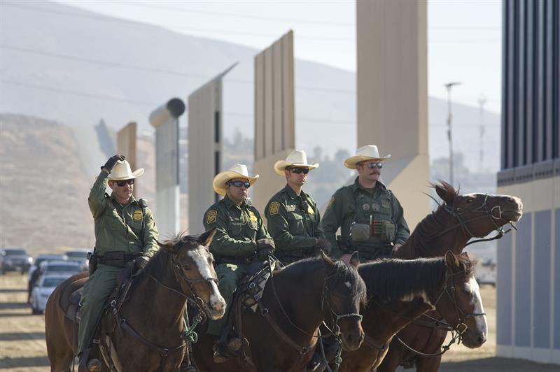 Las detenciones de indocumentados en la frontera EE.UU.-México bajan un 12 % en enero .jpg