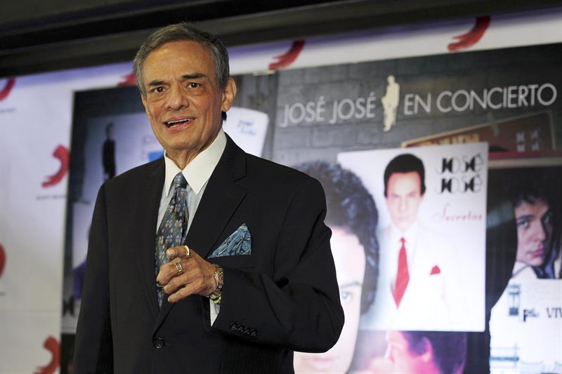 El cantante José José continúa su tratamiento médico en un hospital de Florida .jpg