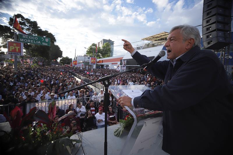 Los aspirantes a la Presidencia mexicana cierran la precampaña con mensajes optimistas .jpg