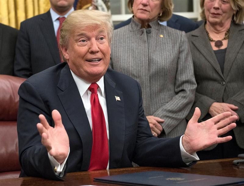 Trump critica al Congreso y al FBI por no haber investigado el pago de Obama a Irán .jpg
