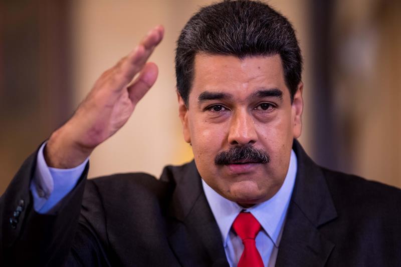 Maduro emplaza a Trump a fijar un diálogo en Caracas o en Washington .jpg