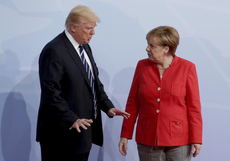 Merkel y Trump, preocupados por desarrollo armamentístico anunciado por Putin .jpg