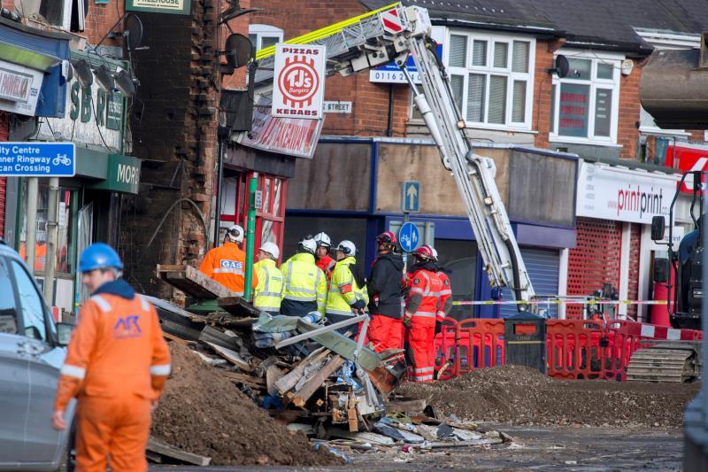Se eleva a cinco la cifra de detenidos por la explosión de Leicester .jpg