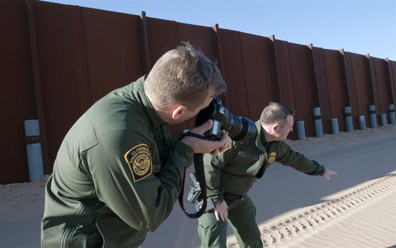 Las detenciones en la frontera vuelven al ritmo usual tras un año de Trump .jpg