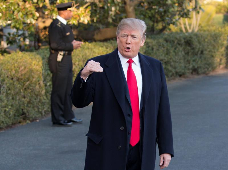 Trump pronostica %22un tremendo éxito%22 en las conversaciones con Corea del Norte .jpg