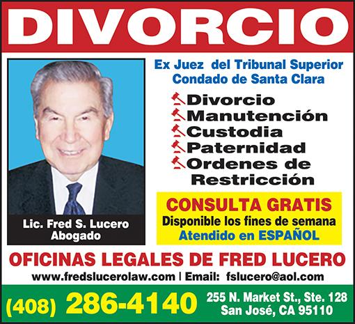 Fred Lucero - Abogado de Divorcio 1-6 Enero 2015.jpg