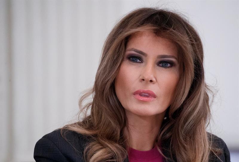 Melania Trump una lanza su campaña contra acoso en Internet pese al %22escepticismo%22 .jpg